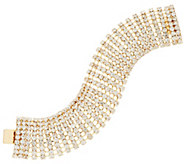 Linea by Louis DellOlio Domed Crystal Bracelet - J317113