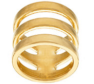 Oro Nuovo Polished Open Triple Band Ring, 14K - J322813