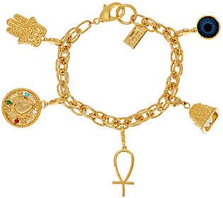 The Elizabeth Taylor 5 Charm Bracelet