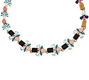 LOGO Links by Lori Goldstein Floral Collar Necklace - J332913
