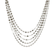 Bianca 18 Polished Multi-Strand Necklace, 14.0g - J333413