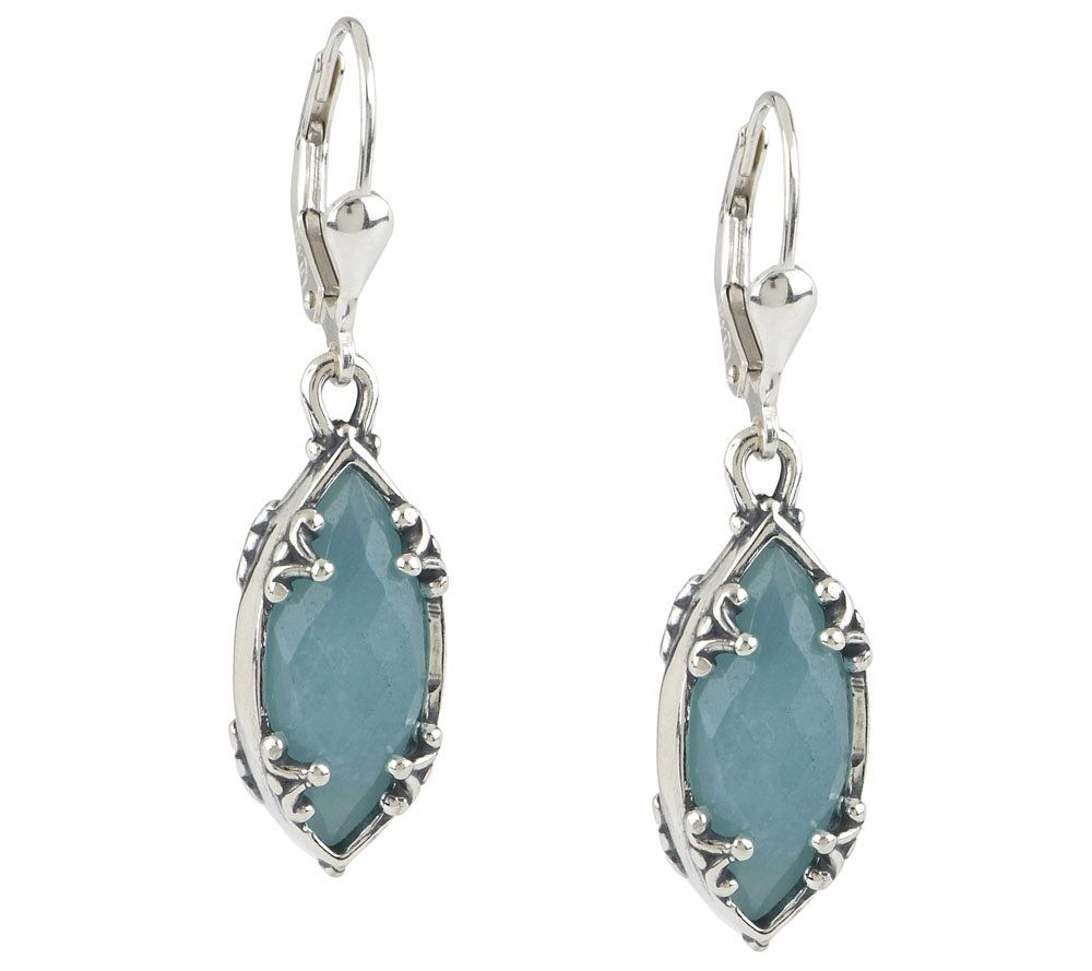 As is carolyn pollack wintergreen sterling earrings for Carolyn pollack jewelry qvc