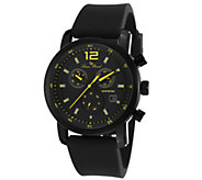 Lucien Piccard Mens Toules Chrono Silicone Watch - J339113