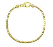Judith Ripka Sterling 14K-Clad Charm Bracelet, Average - J339413