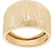 EternaGold Textured Domed Ring, 14K Gold - J353713