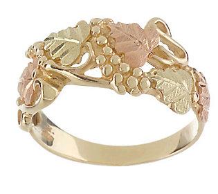Product image of Black Hills Grapeleaf Ring 10K/12K Gold