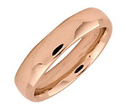 Simply Stacks Sterling 18K Rose Gold-Plated 4.25mm Ring - J298114