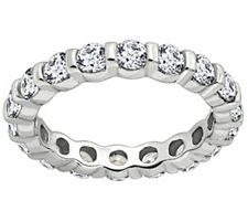 Epiphany Diamonique 1.90 ct tw Eternity Band Ring