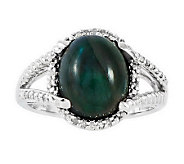 Sterling Choice of Cabochon Diamond Accent Ring - J313814