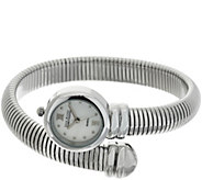 Joan Rivers Tubogas Coiled Wrap Watch - J321614