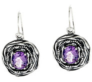 Sterling Silver 4.50 cttw Gemstone Drop Earrings by Or Paz - J330214