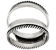 Carolyn Pollack Sterling Silver Polished Ring Guard - J334014