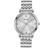 Bulova Womens Classic Slim Case DressWatch - J378514