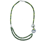 Hagit Sterling Cultured Freshwater Pearl Necklace - J380414