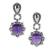Carolyn Pollack Color Connections Gemstone DropEarrings - J382514