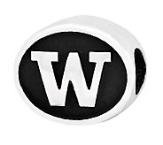 Sterling Silver University of Washington Bead - J300815