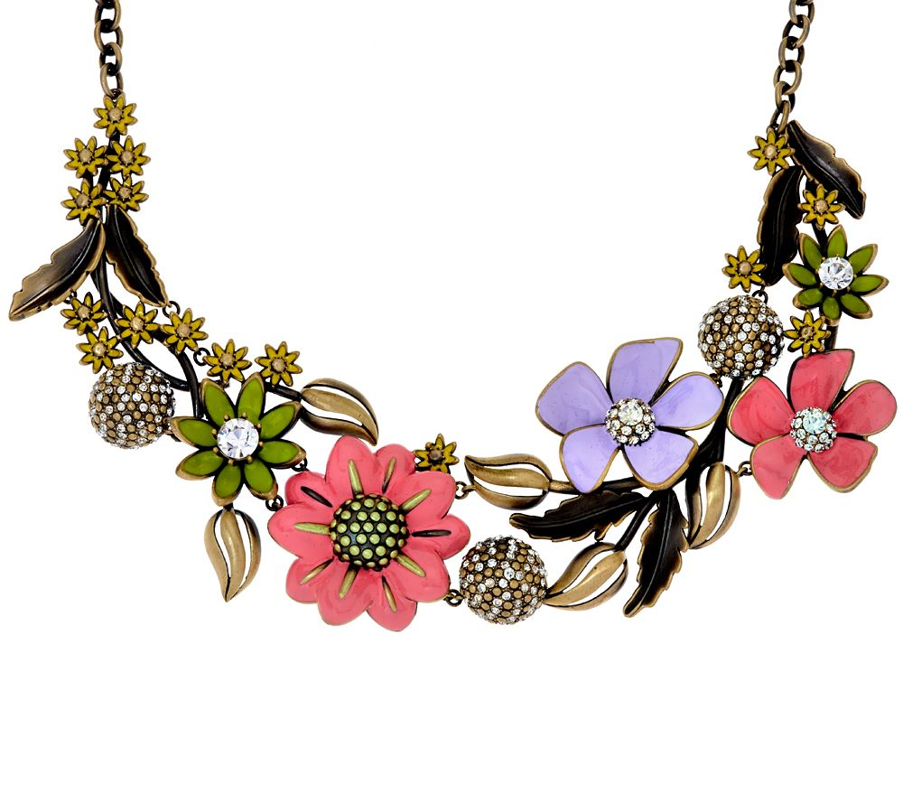 Joan rivers limited edition enchanted garden 18 necklace for Joan rivers jewelry necklaces
