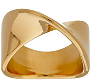 As Is Oro Nuovo Polished Wave Twist Ring, 14K - J330415