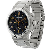 Philip Stein Mens Steel Bracelet Active Classic Watch - J334815