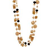 Linea by Louis DellOlio Aztec Style Bead Necklace - J335215