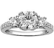 3-Stone Diamond Bridal Ring, 14K, 1.50cttw by Affinity - J338615