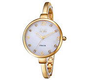 V19.69 Italia Goldtone Watch w/ White MOPDial - J344515