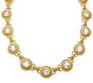 Judith Ripka 14K Clad & Diamonique 18  Necklace - J344615