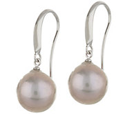 Honora Grey Ming Cultured Pearl Sterling Drop Earrings - J347415