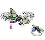 Carolyn Pollack Sterling Doublet Dragonfly Ring or Cuff