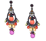 Linea by Louis DellOlio Multi-color Drop Earrings - J270116
