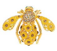 Joan Rivers Sunflower Bee Pin - J277516
