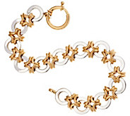 14K Gold 6-3/4 High Polished Link Bracelet, 9.7g - J295516