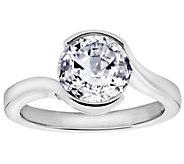 Diamonique 2.40 cttw Ring, Platinum Clad - J309716