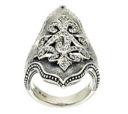 Scott Kay Sterling North South Ring - J320616