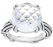 Peter Thomas Roth Sterling Fantasies Crystal Quartz Ring - J333616