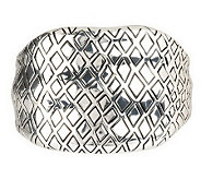 Animal Instinct Hinged Bangle Bracelet - J263117