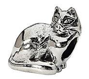 Prerogatives Sterling Ragdoll Cat Bead - J299517