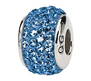 Prerogatives Sterling Blue Full Swarovski Crystal Bead - J299617