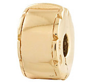 Prerogatives Gold-Plated Sterling Hinged Clip Bead - J302617