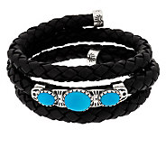 Sleeping Beauty Turquoise Coil Bracelet by American West - J343217