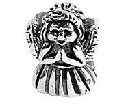 Prerogatives Sterling Silver Praying Angel Bead - J108918