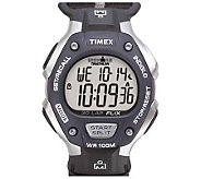 Timex Mens Ironman 30-Lap Watch with Quick-Drying Resin Strap - J109018