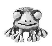 Prerogatives Sterling Frog Bead - J110018