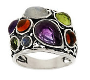 Or Paz Sterling 6.30 ct tw Multi-Gemstone Ring - J278818