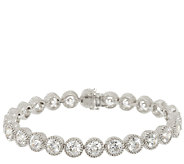 Judith Ripka Sterling 118 Facet Diamonique Bracelet 8 - J293818