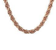 Bronzo Italia 24 Bold Fancy Rope Necklace - J313518