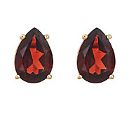 Pear-Shaped Gemstone Stud Earrings, 14K Gold - J315918