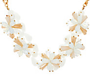 Susan Graver Floral Statement Necklace - J329218