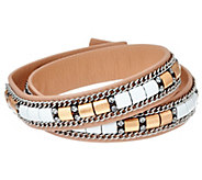 Stella & Dot Cady Wrap Leather Bracelet - J329418