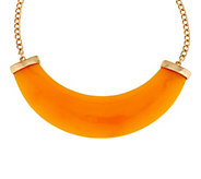 As Is Kenneth Jay Lanes Modern Crescent Necklace - J332718